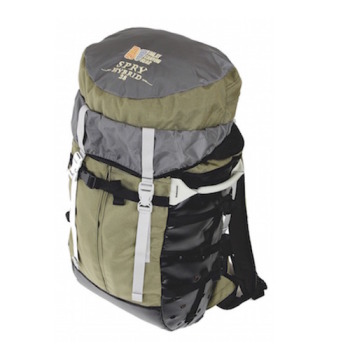 30 liter backpack.  This is a large day pack suitable for canyoneering trips with medium amounts of gear.