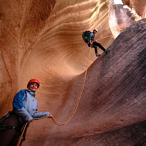 one day basic canyoneering course