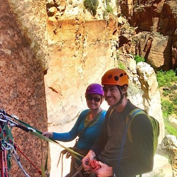guided climbing trips and courses. zion np utah