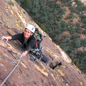 guided climbing trips and courses Zion