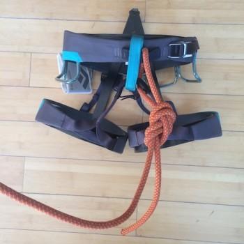 rock climbing, canyoneering, how to tie,