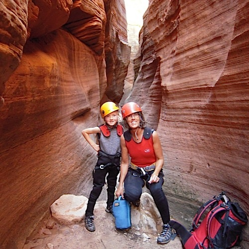 Guided slot canyon trips and tours
