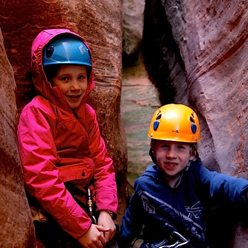 zion canyoneering guided trips tours instructional canyoneering courses